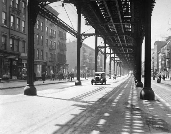 View From 38th St. And Second Ave Art Print by New York Daily News Archive