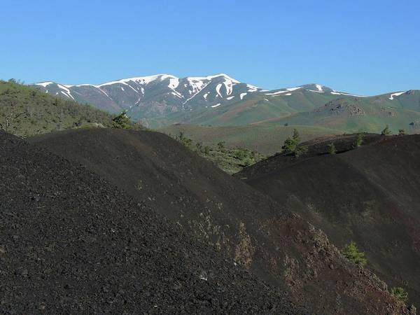 Photograph - View From A Volcanic Cone by Vincent Green