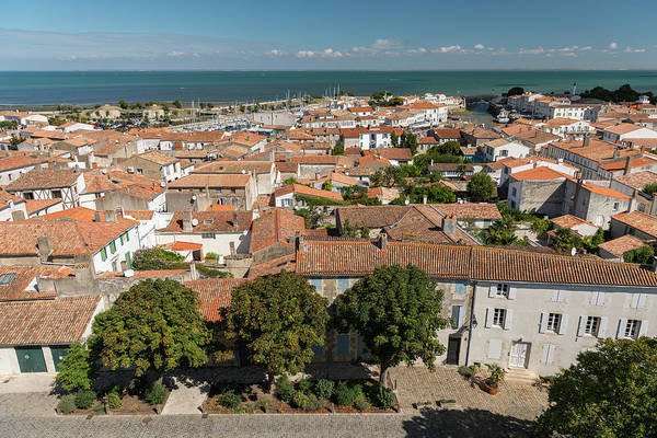 Photograph - view from above at the city of Saint Martin by Stefan Rotter