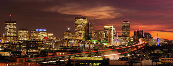 Wall Art - Photograph - View From Chelsea - Panorama by Michael Blanchette