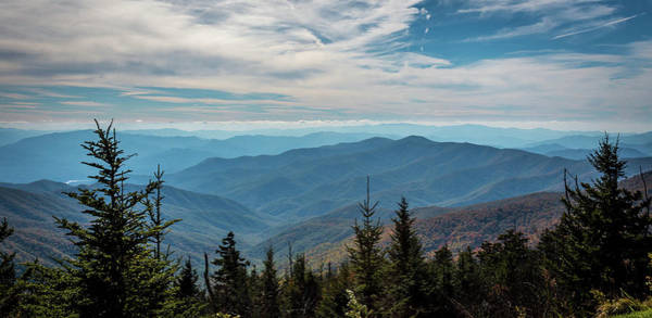 Photograph - View From Clingman's Dome by Susie Weaver