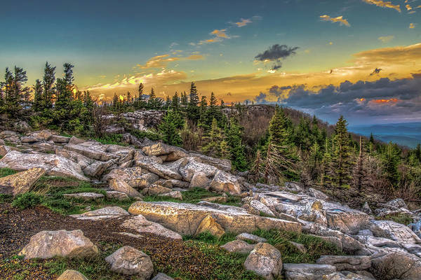 Photograph - View From Dolly Sods 4714 by Donald Brown
