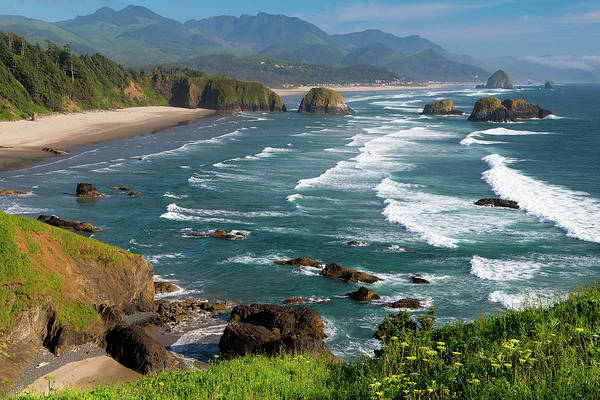 Oregon Coast Photograph - View From Ecola by Patrick Campbell