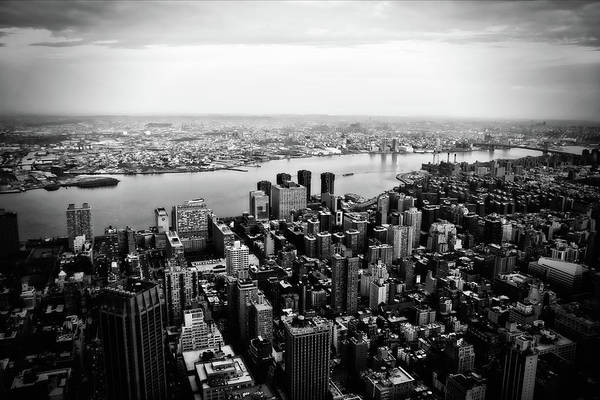 East Side Photograph - View From Empire State Building by Daniel Wildi Photography