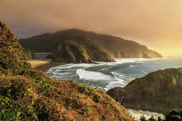 Photograph - View From Heceta Head by James Eddy
