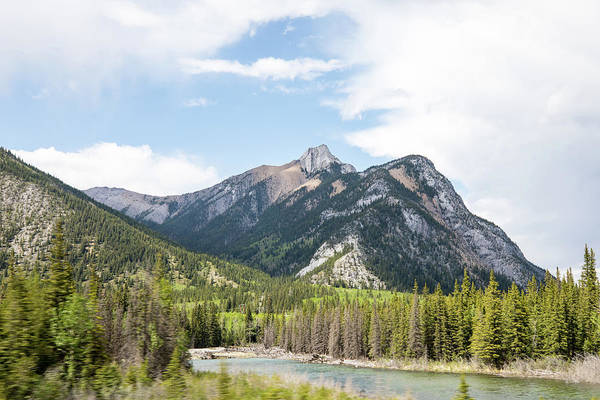 Photograph - View From Kananaskis Trail by M C Hood