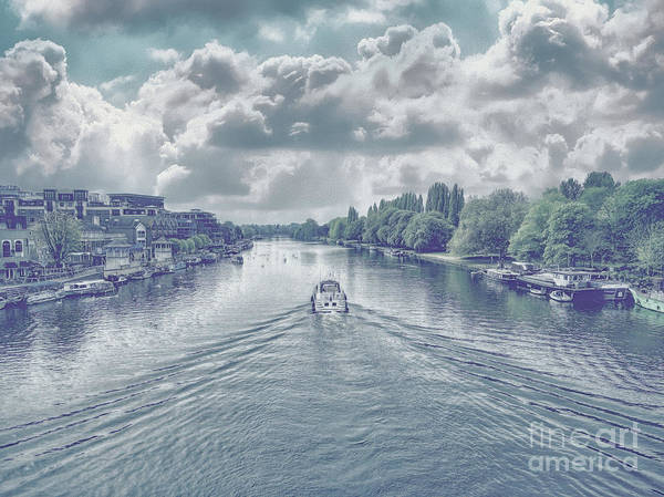 Photograph - View From Kingston Bridge by Leigh Kemp