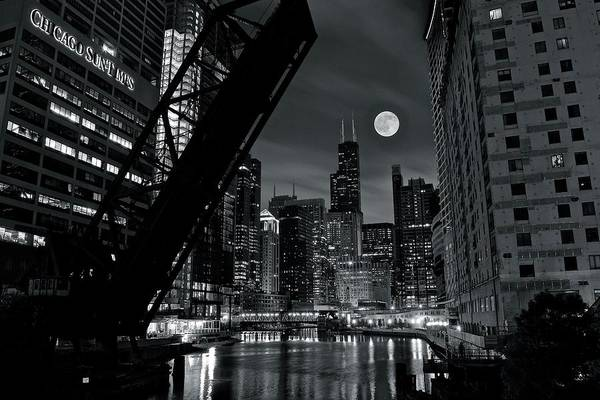 Wall Art - Photograph - View From Kinzie by Frozen in Time Fine Art Photography