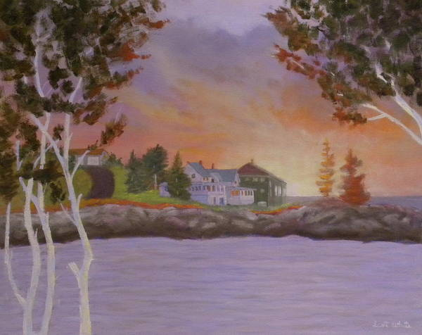 Painting - View From Mermaid House by Scott W White