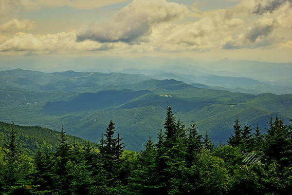 Photograph - View From Mount Mitchell by Meta Gatschenberger
