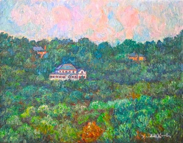 Painting - View From Rec Center by Kendall Kessler