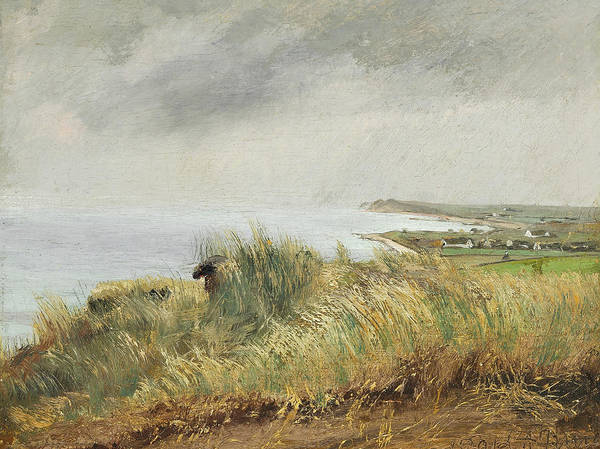 Painting - View From Spodsbjerg Over The Fjord by Laurits Andersen Ring