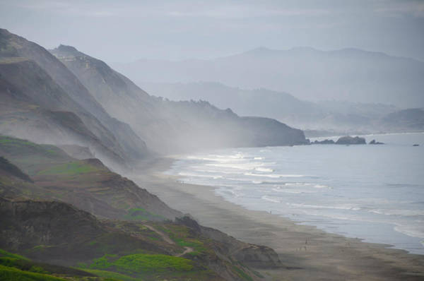 Photograph - View From Sunset Trail Near San Francisco by Bill Cannon