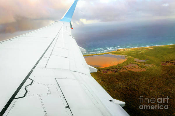 Wall Art - Photograph - View From The Airplane Window by Viktor Birkus