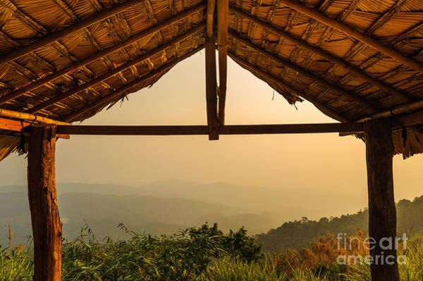 Wall Art - Photograph - View From The Hut In Morning by Latthaphon Rodrattanachai