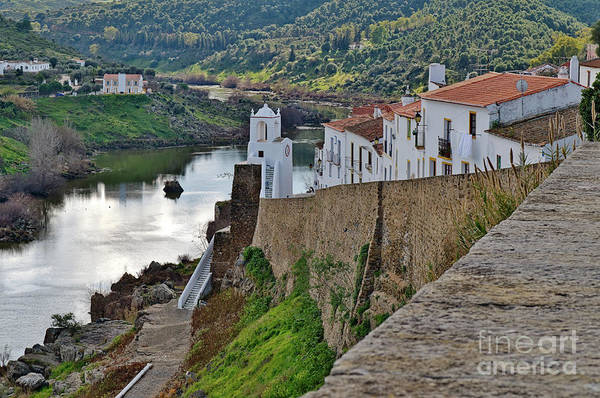 View From The Medieval Castle Art Print