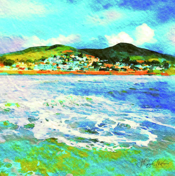 Digital Art - View From The Pier by Jo-Anne Gazo-McKim