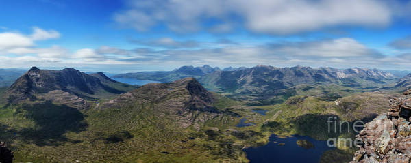 Beinn Eighe Photograph - View From The Summit Of Maol Chean-dearg by Phill Thornton