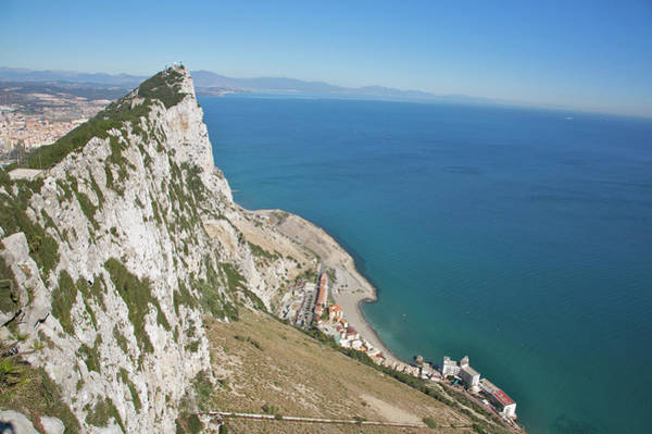 Viewpoint Photograph - View From Top Of The Rock, Gibraltar by Barry Winiker