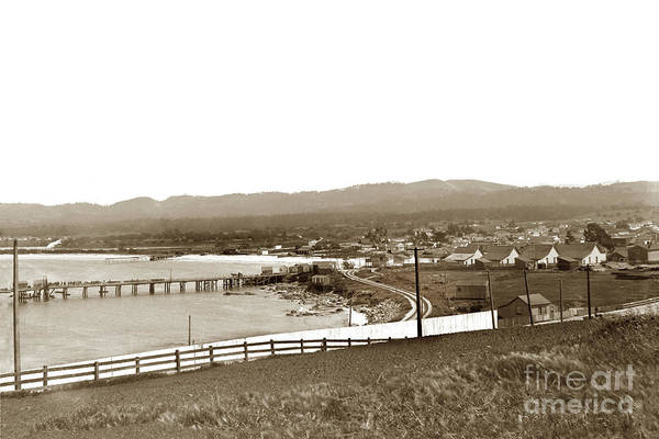 Photograph - View Looking Southeast To The Harbor From The Site Of El Castill by California Views Archives Mr Pat Hathaway Archives