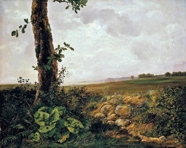 Wall Art - Painting - View Near Presto - Digital Remastered Edition by Johan Christian Dahl