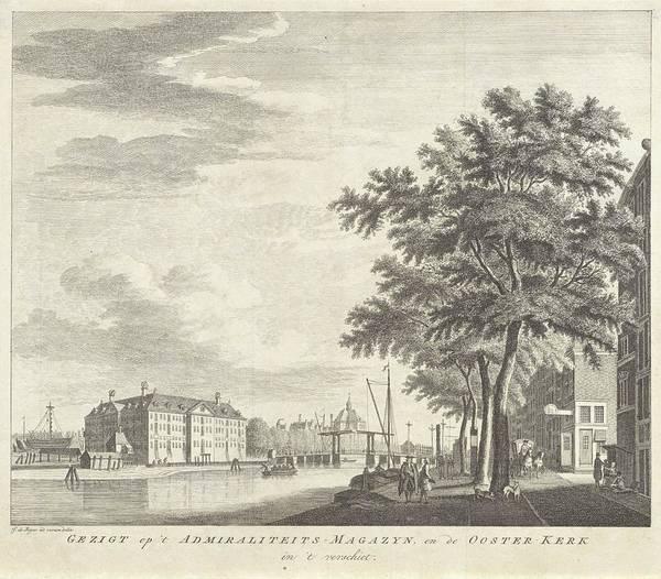 Wall Art - Painting - View Of Amsterdam, Jan De Beijer, 1718 - 1830 by Jan de Beijer