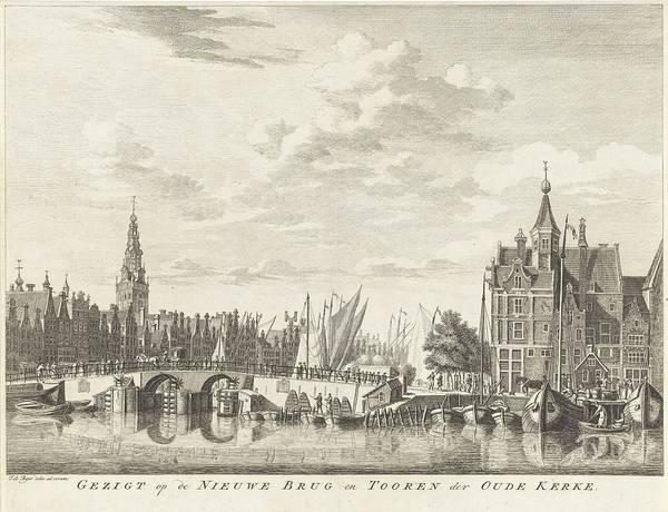 Wall Art - Painting - View Of Amsterdam, Jan De Beijer, 1729 - 1830 by Jan de Beijer