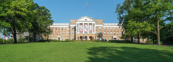 Wall Art - Photograph - View Of Bascom Hill With University by Panoramic Images