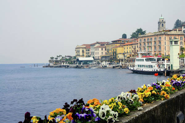 Photograph - View Of Bellagio, Italy by Dawn Richards