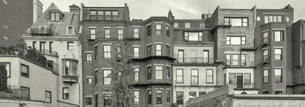 Wall Art - Photograph - View Of Blocks Of Flats On Boston by Panoramic Images