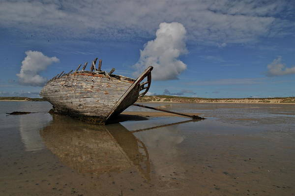 Oar Photograph - View Of Boat by //tom O Hare// Images//