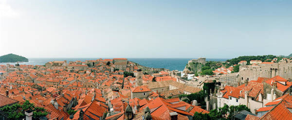 Wall Art - Photograph - View Of Buildings In A Town, Dubrovnik by Panoramic Images