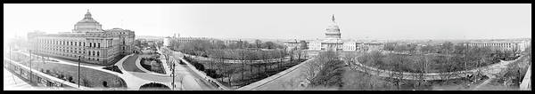 Washington Capitals Photograph - View Of Capitol, Washington D.c., 1914 by Fred Schutz Collection