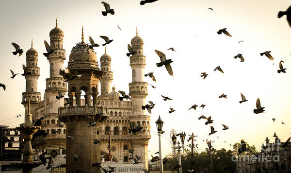 Historic Monument Wall Art - Photograph - View Of Charminar, Hyderabad. India by Saisnaps