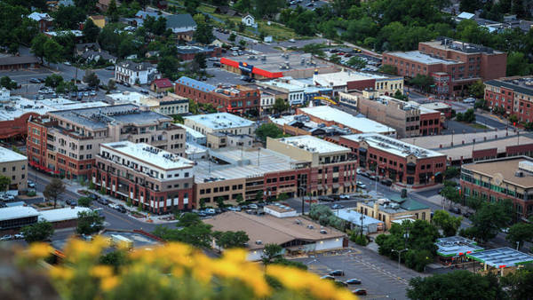 Photograph - View Of Downtown Golden, Colorado From South Table Mountain by Jeanette Fellows