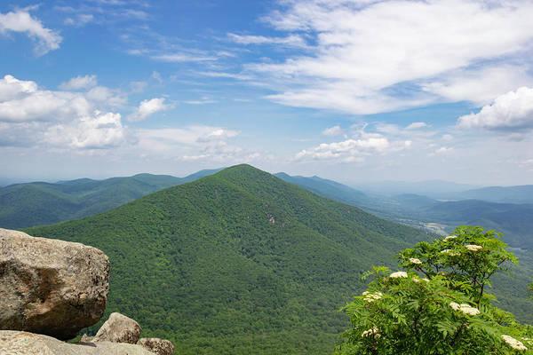 Wall Art - Photograph - View Of Flat Top Mountain by Teresa Mucha