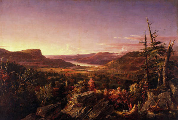 Wall Art - Painting - View Of Greenwood Lake, New Jersey by Jasper Francis Cropsey