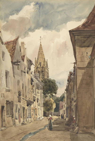Drawing - View Of Issy by Thomas Shotter Boys