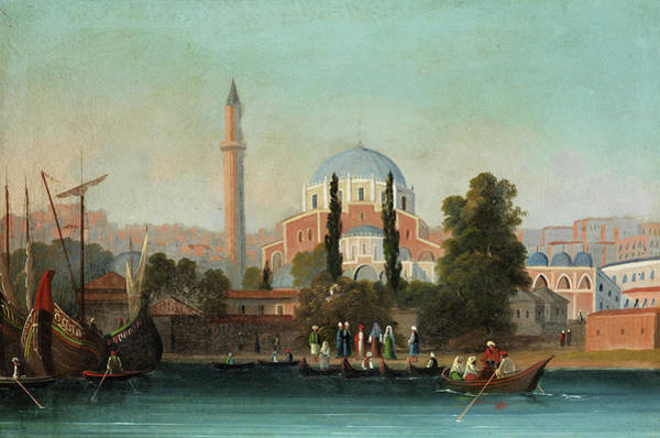 Istanbul Painting - View Of Istanbul by 19th Century