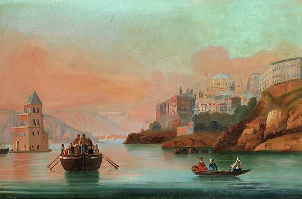 Istanbul Painting - View Of Istanbul - 2 by 19th Century