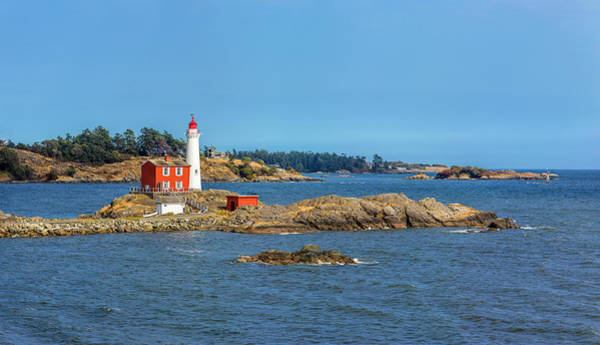 Wall Art - Photograph - View Of Lighthouse, Fisgard Lighthouse by Panoramic Images
