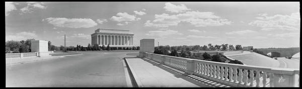 Wall Art - Photograph - View Of Lincoln Memorial, Washington by Fred Schutz Collection