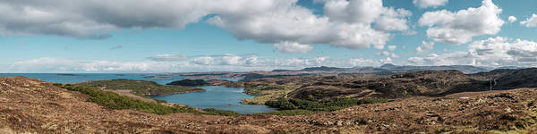 Wall Art - Photograph - View Of Loch Ardbhair In Higlands Of Scotland by Jon Ingall