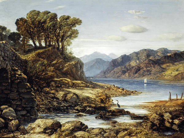 Wall Art - Painting - View Of Loch Lomond by William Dyce