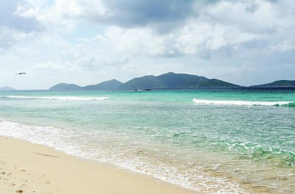 British Virgin Islands Photograph - View Of Long Bay Beach by Driendl Group