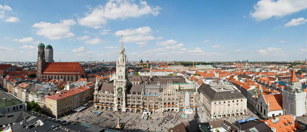 Town Square Wall Art - Photograph - View Of Marienplatz From St Peters by Cultura Rm Exclusive/rosanna U