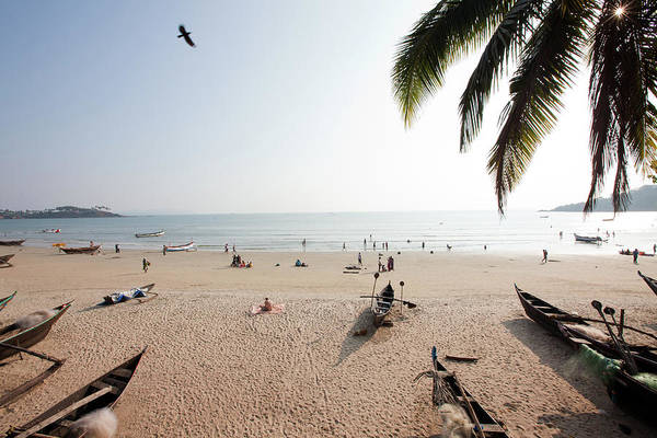 Strand Photograph - View Of Palolem Beach,goa,india by Jasper James