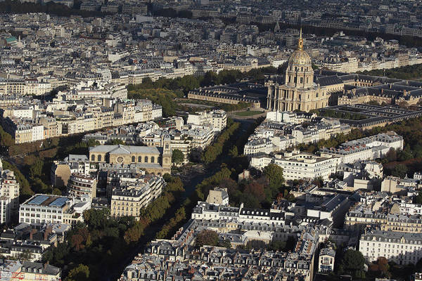 Paris Rooftop Photograph - View Of Paris by Martial Colomb
