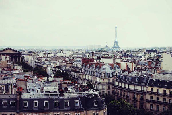 Paris Rooftop Photograph - View Of Paris Rooftops by Photographed By Andrew Gulik