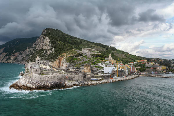 Photograph - View Of Portovenere Italy From Palmaria Island by Joan Carroll
